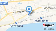 Автосервис на Шоссейной на карте