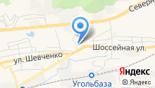Кроф на карте
