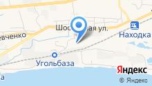 Анкер-Находка на карте