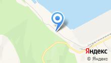 Восточник на карте