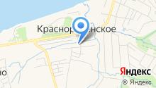 Отделение почтовой связи на карте