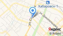 Главное управление МЧС России по Хабаровскому краю на карте