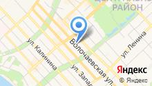 Управление по делам ГО, ЧС и пожарной безопасности Хабаровского края на карте