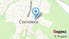 Шекопрод на карте
