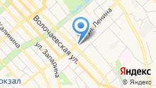 22 военная автомобильная региональная инспекция Министерства Обороны РФ на карте