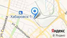 Эвакуатор-Увезем27.рф на карте