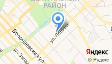 ДНС на карте