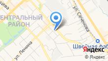 Единая дежурно-диспетчерская служба города на карте