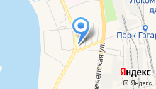 Автогоризонт на карте