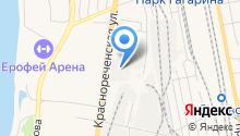 HiWave на карте