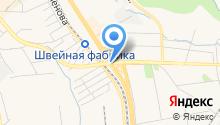 Портовый на карте