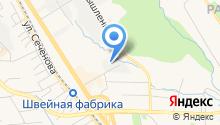 Азимут плюс на карте