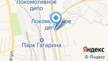 Автосток на карте