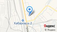 Хабаровский дворец культуры железнодорожников на карте