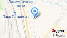 Автомойка на Школьной на карте