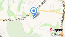 Аким на карте