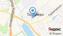 Районная больница №4 на карте