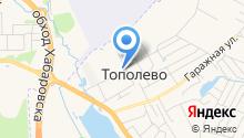 Управление сельского хозяйства и охраны окружающей среды Хабаровского муниципального района на карте