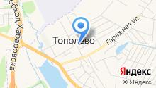 Парикмахерская на ул. Пионерская на карте