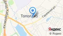 Районная больница на карте