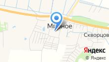 Олевин на карте
