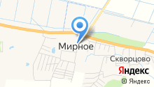 Мирнинская деревообрабатывающая фабрика на карте