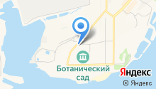 Южный на карте