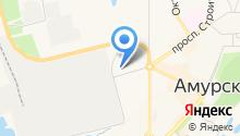 Элисса на карте