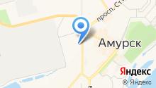 Отдел военного комиссариата Хабаровского края по г. Амурску и Амурскому району на карте