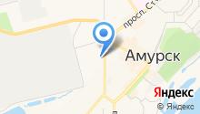 Амурск-Недвижимость на карте