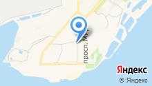Комсомольский-на-Амуре аэропорт на карте