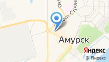 Амурский расчетно-кассовый центр, МУП на карте