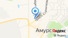 Парикмахерская на проспекте Строителей на карте