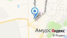 Фотоцентр на проспекте Строителей на карте