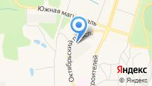 Магазин овощей и фруктов на Октябрьском проспекте на карте