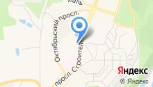 Магазин разливного пива на проспекте Строителей на карте