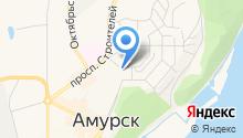 Магазин овощей и фруктов на Комсомольском проспекте на карте