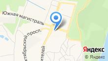 Центральная поликлиника на карте