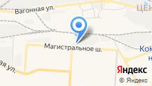 Автомакс на карте