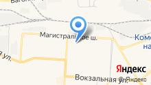 Восток-1 на карте