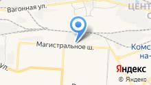 Амур-Цемент на карте