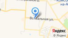 Банкомат, Дальневосточный банк, ПАО на карте