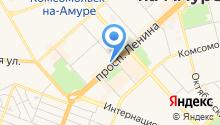 TEX на карте