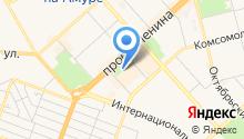 Гейша на карте