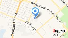 Автостоянка на Хасановской на карте