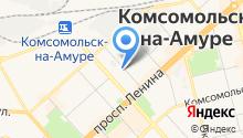 Автостоянка на ул. Сидоренко на карте
