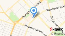 Гламурный магазинчик на карте