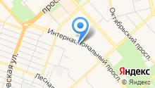Bitte на карте