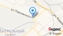 Амуршина-Хабаровск на карте