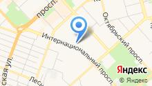 Администрация Центрального округа на карте